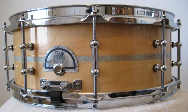5.5x14 Maple snare with custom