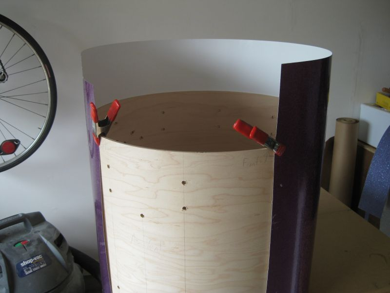 How to wrap a drum shell
