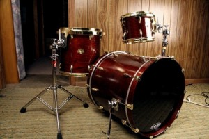 Custom drums built for Steven