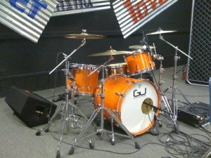 kevin's custom drum set