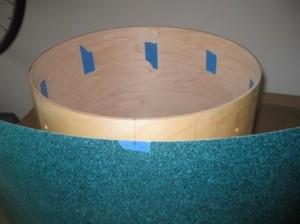 drum wrap on keller shell