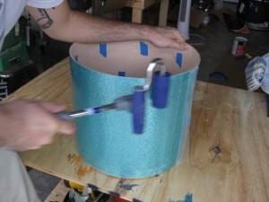 j-roller wrap on keller shell