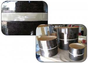 Custom drum pearl inlay strip