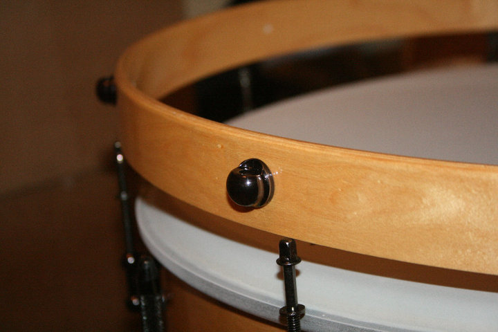 Ego Rounded Claw for bass drum hoops