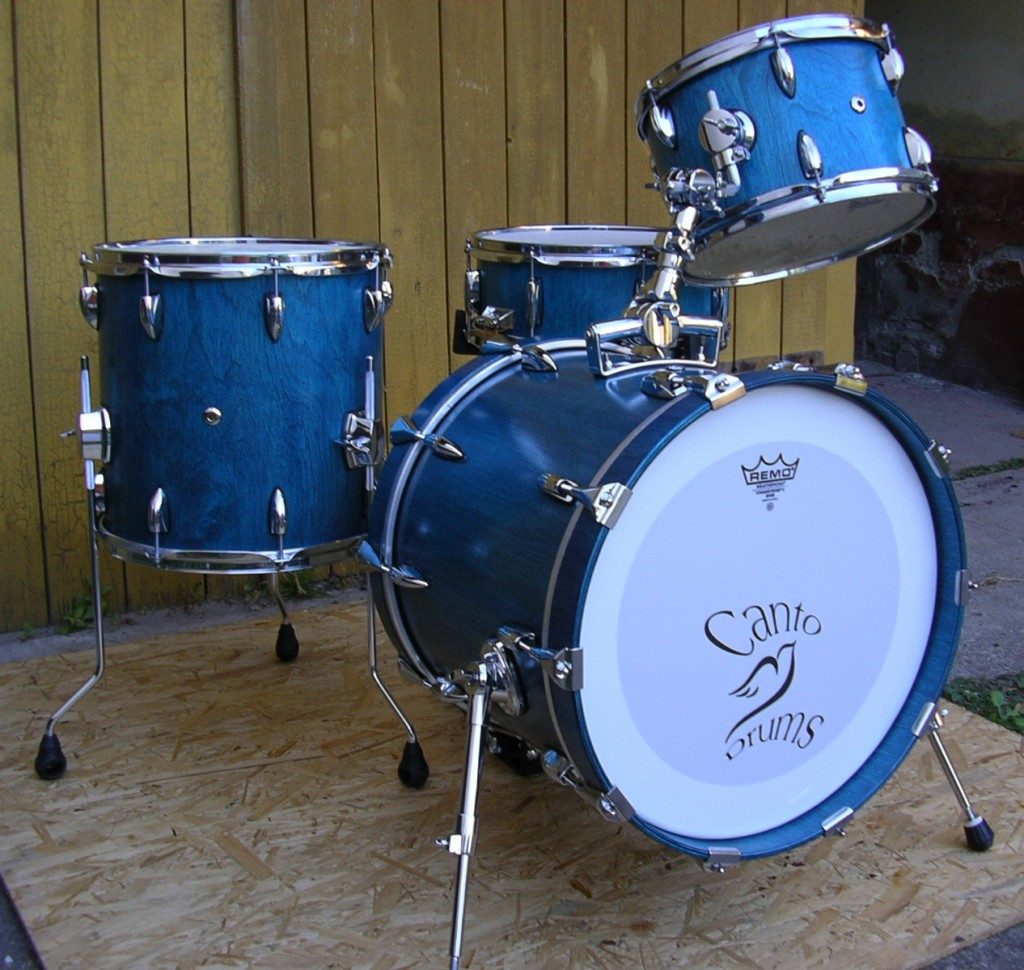 Bart's first custom drum set build