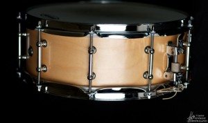 natural maple snare