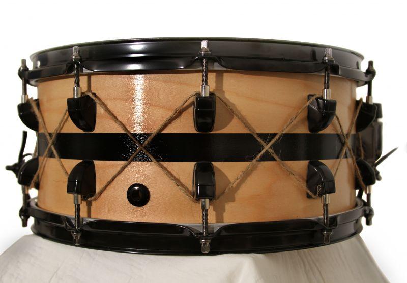 Esteban's 1st custom drum building experience snare drum