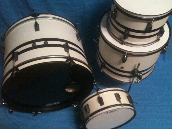 """Featured image for """"Drum Builder Interview: Jeremy Wolfe's 2nd Custom Drum Set"""""""