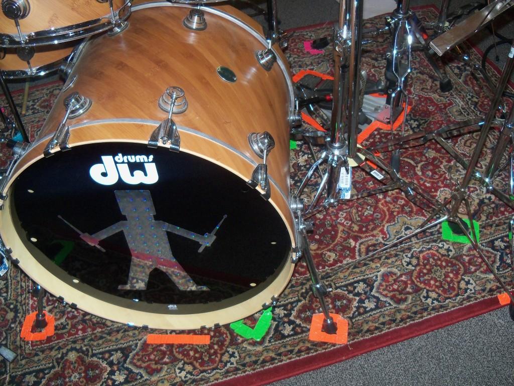 Drum Set Rug Rugs Ideas