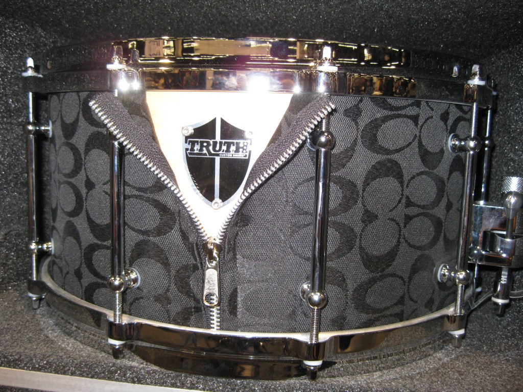 Coach handbag snare drum