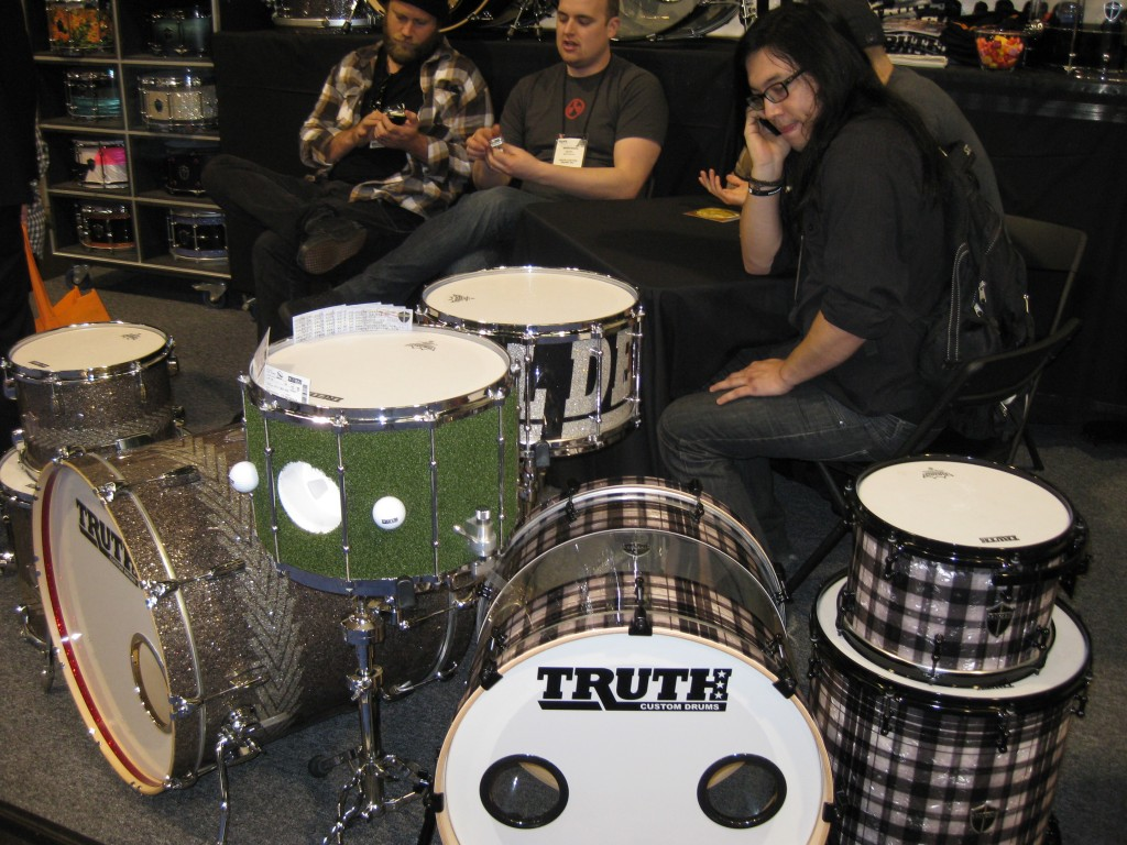 Custom snare drums by Truth