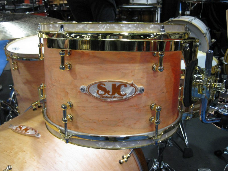 Really cool drum badges from Sjc drums