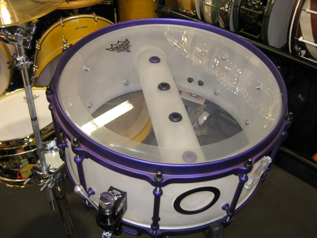 Interesting and unique looking snare from sjc drums