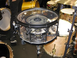 Acrylic Snare Drum from SJC Drums
