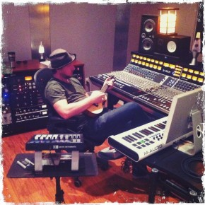 dwight baker at matchbox studios in austin, texas