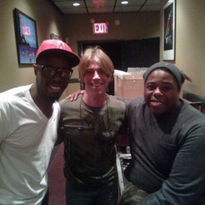 Chris Johnson (Rihanna), Kenny, and Aaron Spears (American Idol)