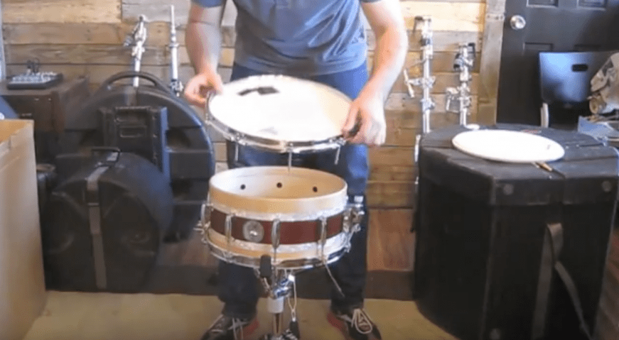 the art of tuning drums how to tune a snare drum evans hd how to build a custom drum set. Black Bedroom Furniture Sets. Home Design Ideas