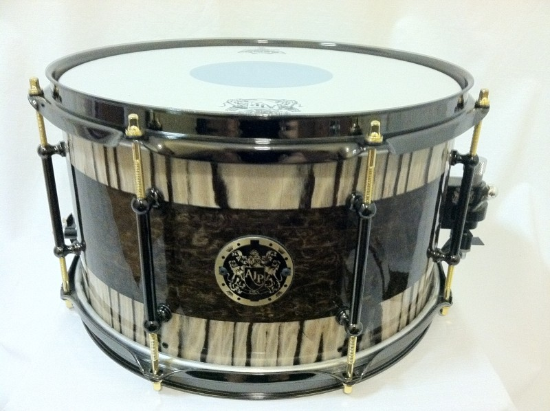 6 custom drum companies to check out at namm 2013 how to build a custom drum set. Black Bedroom Furniture Sets. Home Design Ideas