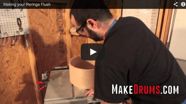 How to Make your Re-rings flush