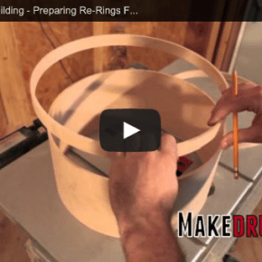 preparing re-rings for glue